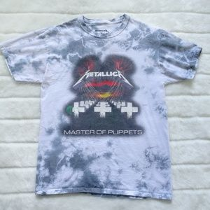 Men's Metallica Band  Master Of Puppets T-Shirt M